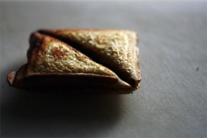 Toasted sanger + Artful lighting = Cuisine.
