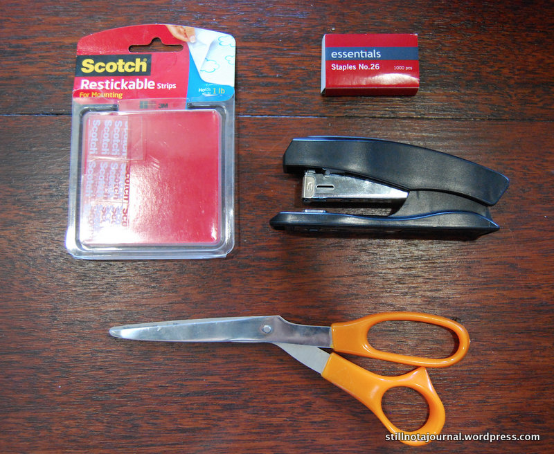 Take spare staples and stapler for on-the-hop repairs, especially if trick-or-treating in high winds.