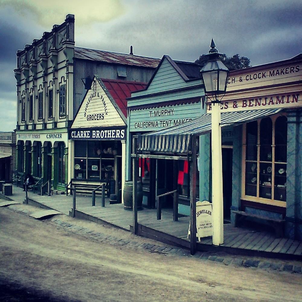 Main Street, 1850s Ballarat