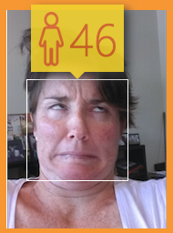 So this is what I'm going to look like in six years' time? Lovely...