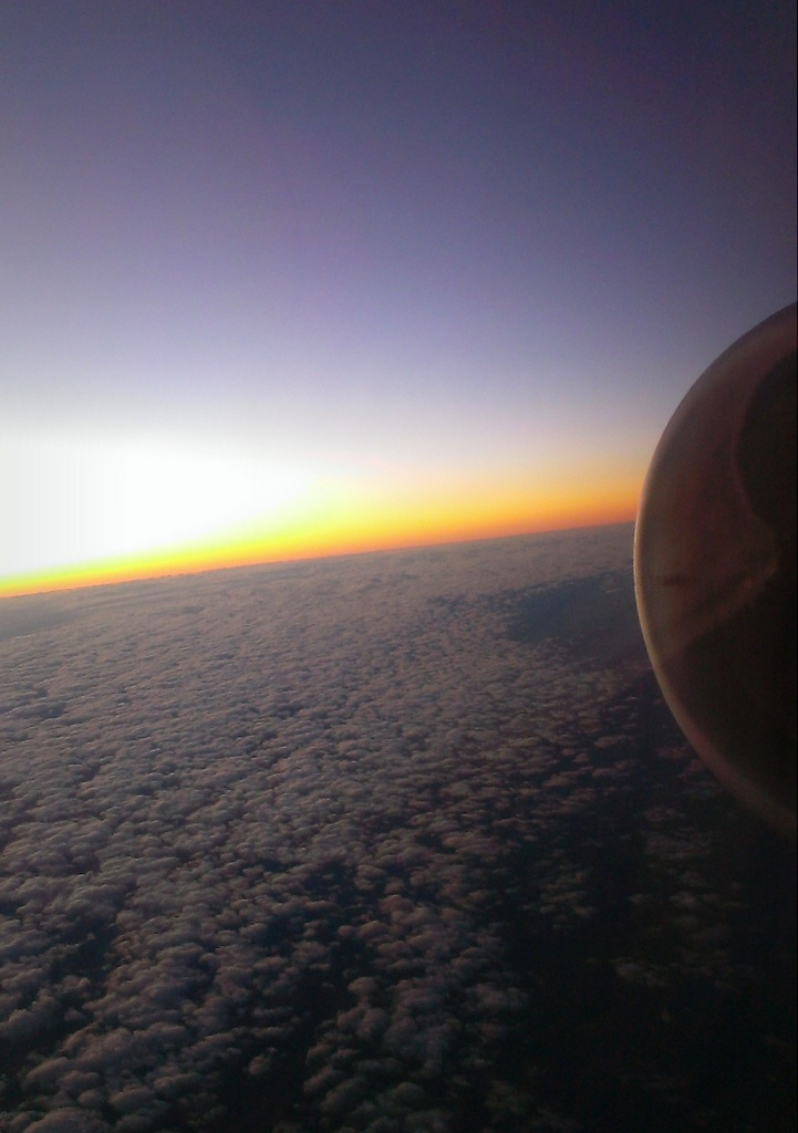 Dawn From A Plane Made By Apes.
