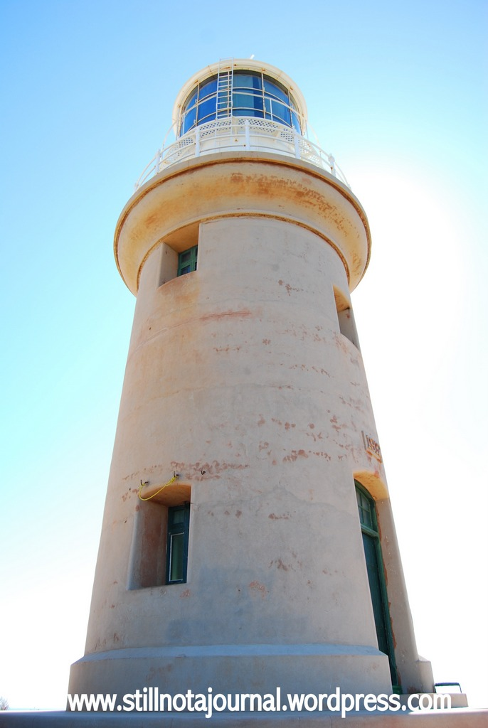 closeup Vlamingh Head Lighthouse, WA