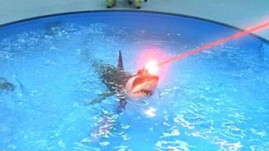 shark with a frickin' laser on its head