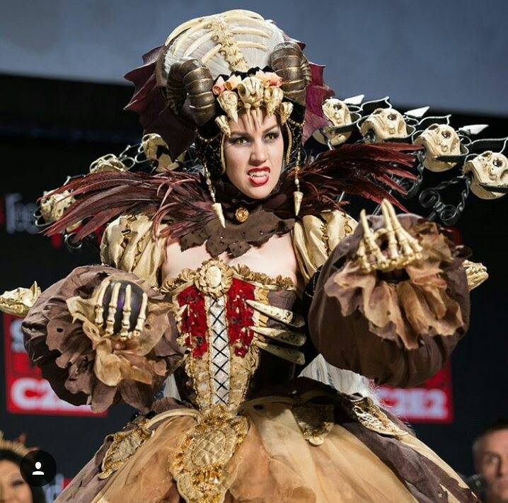 22 Major Sam Cosplay C2E2 world champ march 2016