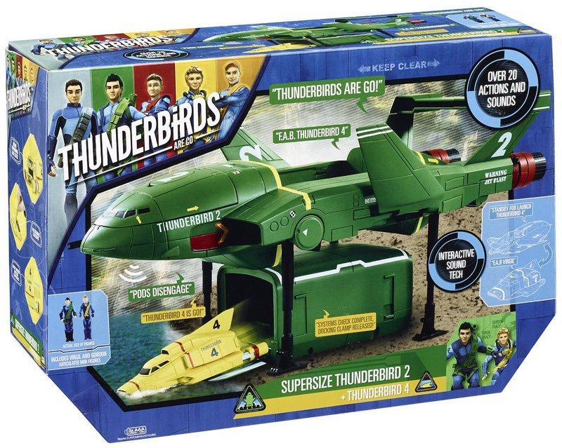 I was like, you don't even know what Thunderbirds are!!