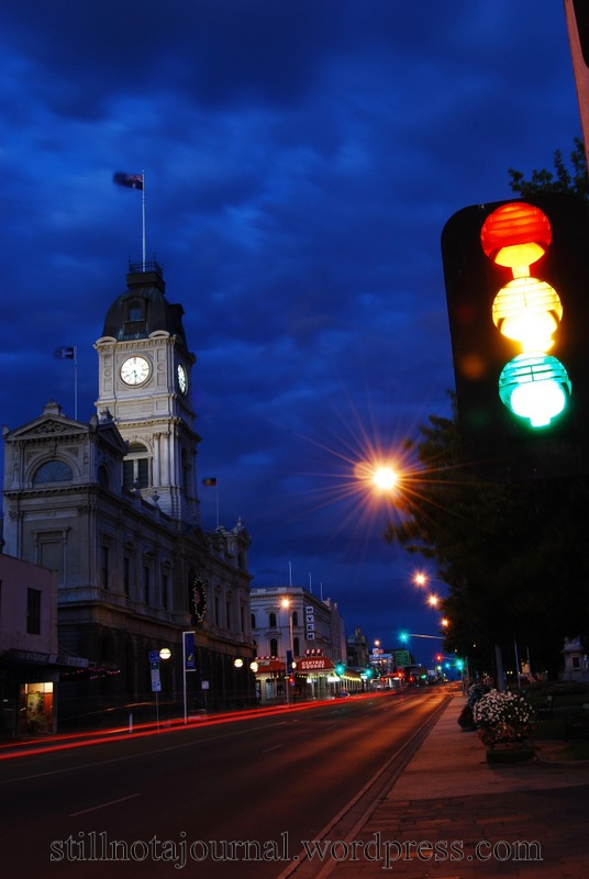 Sturt Street, Ballarat's main drag. Something old, something new...