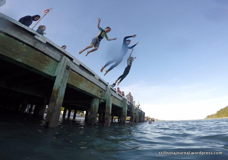 Mapua Wharf jump