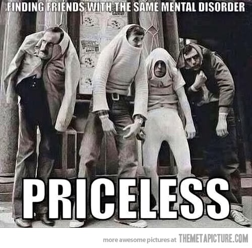 Monty Python team mental disorder