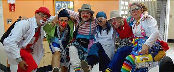 Lovely wonderful happy clowns who want to make you laugh and feel better and not eat your soul at all.