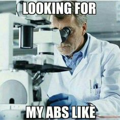 fitness looking for my abs