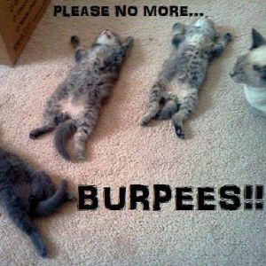 no more burpees