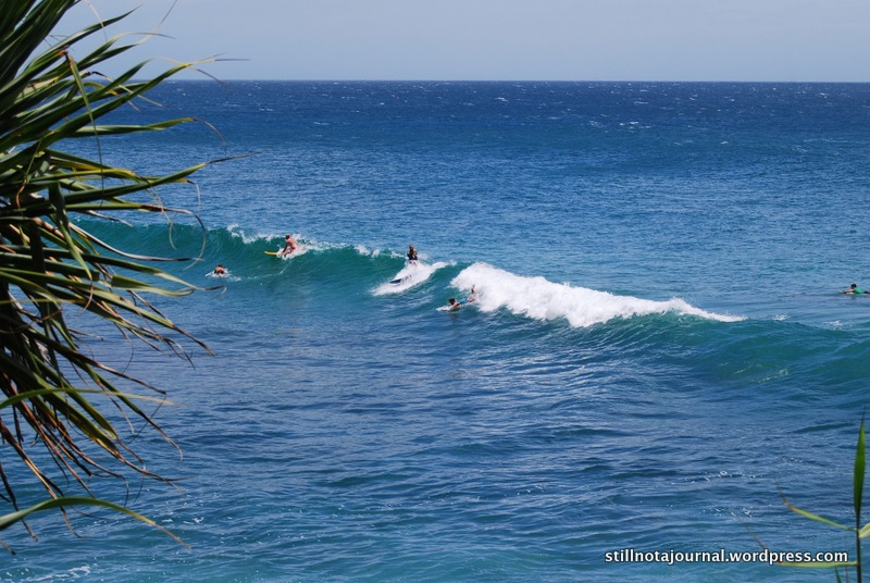 12 surfing Burleigh Headland