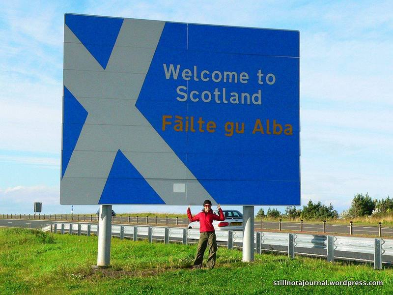 OCH!! I'm so jealous you got to Scotland before I did, ye wee biggit!