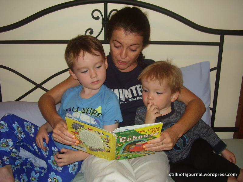 Looks like there aren't any farts in this bedtime story. It's some serious shit!