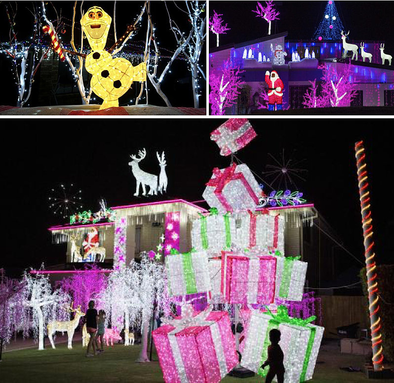 These are my favourites - in Coomera and Upper Coomera, and the winners were in Molendinar. Next year I am totally doing the Christmas lights tour. Yes it's a thing!